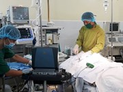 Aide japonaise accordée à l'hôpital militaire 175