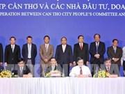 Conférence de promotion de l'investissement dans la ville de Can Tho