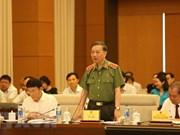 Le ministre de la Sécurité publique explique les questions relatives à la lutte anticriminelle
