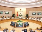 Réunion gouvernementale thématique sur la construction institutionnelle