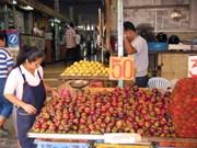 La Thaïlande ambitionne d'augmenter ses exportations de produits alimentaires