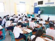 Hô Chi Minh-Ville envisage de supprimer les frais de scolarité pour les collégiens en 2019