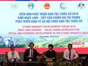Forum sur le développement des ethnies minoritaires 2018 à Quang Nam