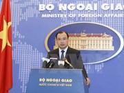 Le Vietnam proteste contre l'installation de systèmes de défense en Mer Orientale