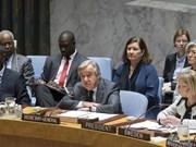 Le secrétaire général de l'ONU dépeint sa vision