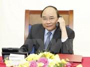 Conversation téléphonique Nguyen Xuan Phuc et Hwang Kyo Ahn