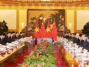 Rencontre au sommet entre le Vietnam et la Chine à Pékin