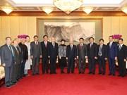 À Pékin, le chef du PCV met en avant l'amitié et la confiance Vietnam-Chine