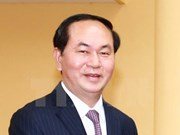 Voeux de bonne année du président Trân Dai Quang