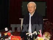Le leader du Parti exhorte Nam Dinh à valoriser ses atouts