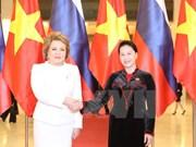 Vietnam-Russie : Renforcement des relations entre les deux organes législatifs