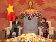 La présidente de l'AN reçoit les diplomates japonais et thaïlandais