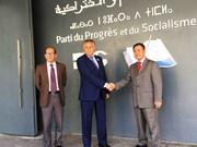 Le PPS du Maroc soutient le développement des relations avec le Vietnam