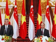Déclaration commune Vietnam-Singapour