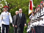 """À Singapour, le président français Hollande appelle à """"intensifier la relation Europe-Asie"""""""