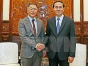 Le président Trân Dai Quang exhorte Hyundai Motor à investir davantage au Vietnam