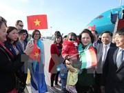 La présidente de l'AN Nguyên Thi Kim Ngân commence sa visite officielle en Hongrie