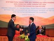 Vietnam et Cambodge renforcent leurs liens économiques et commerciaux