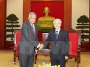 Des dirigeants vietnamiens reçoivent le Premier ministre sri lankais