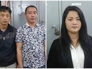 Trois Chinois arrêtés pour arnaque sur des DAB à Hanoi