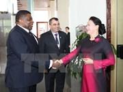 La présidente de l'AN du Vietnam reçoit le président de l'UIP