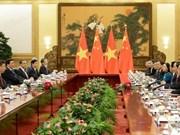 Vietnam-Chine : Entretien entre Trân Dai Quang et Xi Jinping à Pékin