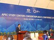 Les chercheurs se penchent sur la vision et les objectifs de l'APEC