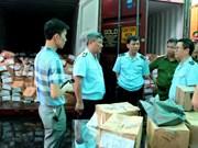 Quatre conteneurs remplis de shisha et de khat découverts à Hai Phong