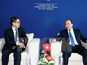 Le PM rencontre des chefs d'entreprises en marge du WEF-ASEAN