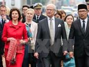Le roi et la reine de Suède en visite d'Etat en Indonésie