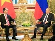 La visite du président Trân Dai Quang dans la presse russe