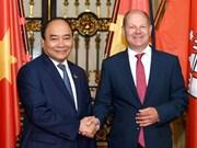 Le PM Nguyên Xuân Phuc plaide pour des liens accrus avec Hambourg
