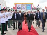 Nguyen Phu Trong plaide pour l'intensifiation de a coopération décentralisée Vietnam-Cambodge