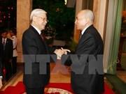 Le leader du PCV adresse ses remerciements au roi Norodom Sihamoni