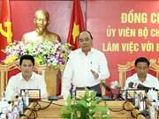 Le Premier ministre demande à Ha Tinh de devenir un centre industriel majeur