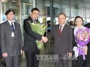 Le président de l'Assemblée nationale législative de Thaïlande au Vietnam