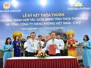 Vietnam Airlines et Thua Thiên-Huê s'associent pour se donner des ailes