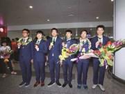 La fierté de la jeune garde vietnamienne aux IMO 2017