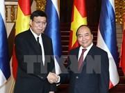 Le Vietnam prend en haute considération son partenariat stratégique avec la Thaïlande