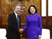 Des dirigeants vietnamiens reçoivent le PDG du groupe d'assurance AIA