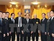 Le  Premier ministre Nguyen Xuan Phuc rencontre des dirigeants thaïlandais