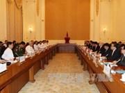 Le Vietnam et le Myanmar signent quatre documents de coopération