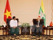Le resserrement des relations entre le PCV et des Partis birmans