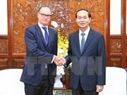 Le président Tran Dai Quang reçoit l'ambassadeur d'Autriche
