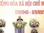 Le PM Nguyên Xuân Phuc donne un banquet à l'occasion de la Fête nationale