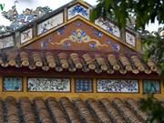 La littérature gravée sur l'architecture royale de Huê exposée à Hanoï
