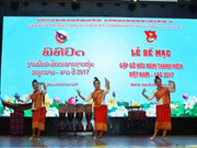 Clôture de la rencontre d'amitié entre les jeunes Vietnam-Laos