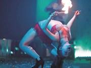My Kim, une danseuse tout feu tout flamme