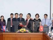 La VNA et l'AKP resserrent leur coopération dans l'échange d'informations
