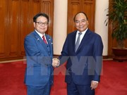 Le PM Nguyen Xuan Phuc reçoit le ministre japonais de l'Économie
